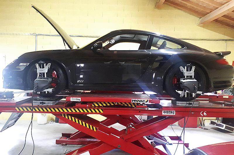 Liaison au sol Porsche 911
